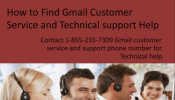 Gmail Customer service for password recovery