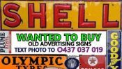 $10,000,000, Service Station Garage Related SIGNS BOTTLES TINS & items