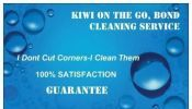 Kiwi On The Go: Bond Cleaning Service