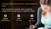 Online Web Designing Assignment Help from MyAssignmenthelp